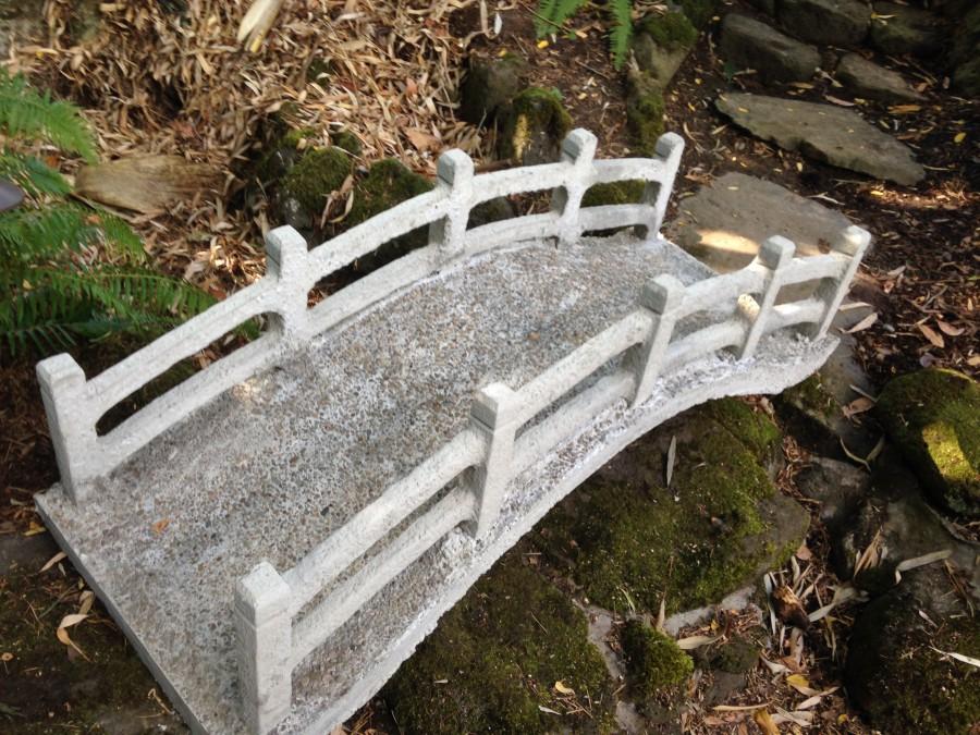 Asian Art Garden Bridge Portland Garden Decor