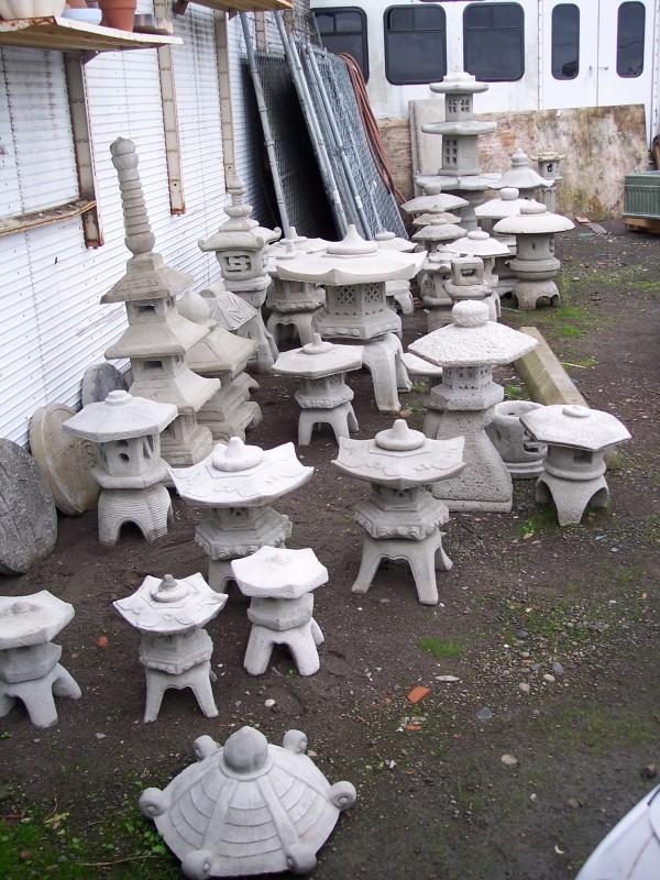 Portland Cement Decor : Asian garden art and statuary concrete decor