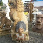 Concrete, Outdoor Statuary in Portland, Oregon