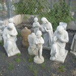 Concrete Christian Statuary and Garden Art in Portland, Oregon
