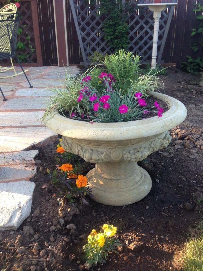 Portland Cement Decor : Pots pottery and planters concrete decorative