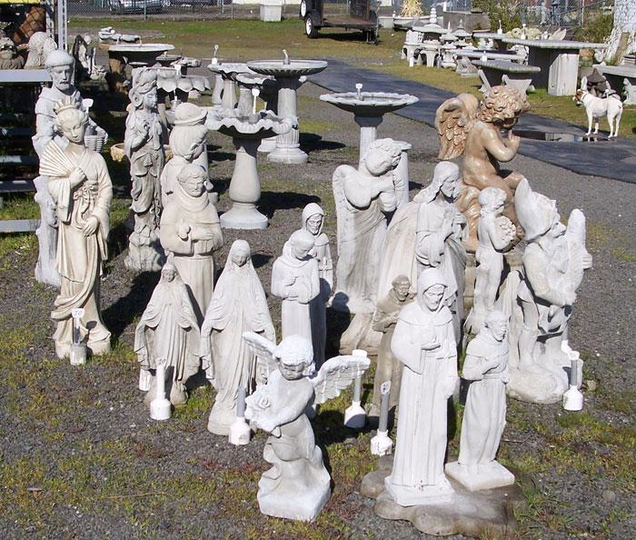Christian Art And Garden Decor Concrete Statuary Portland Garden Decor