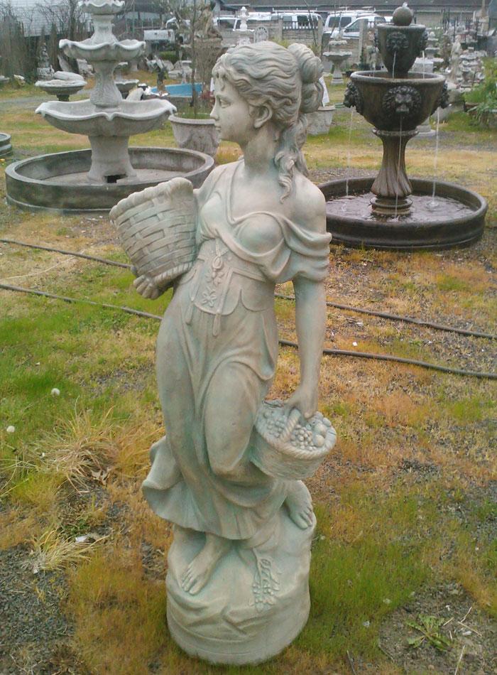 Garden statuary outdoor statues and garden decor for Garden fountains portland oregon